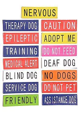 Toppa Patch Per Tactical Dog Harness Delle Avvertenze Canine Cablaggio Cablaggio K9-mostra Il Titolo Originale Rendere Le Cose Convenienti Per Le Persone