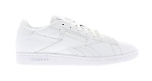 Détails sur Neuf pour Hommes Reebok Npc UK Tx Chaussures Blanches BD1213