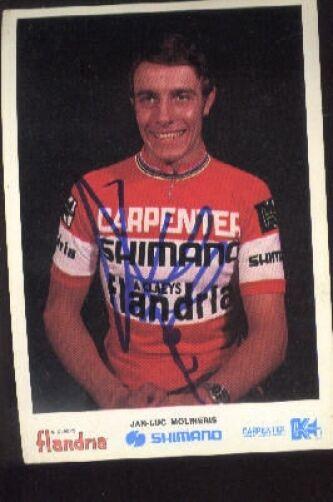 Jean-Luc Molineris cyclisme Signée FLANDRIA FLANDRIA FLANDRIA team 70s autographe cycling ciclismo e5783e