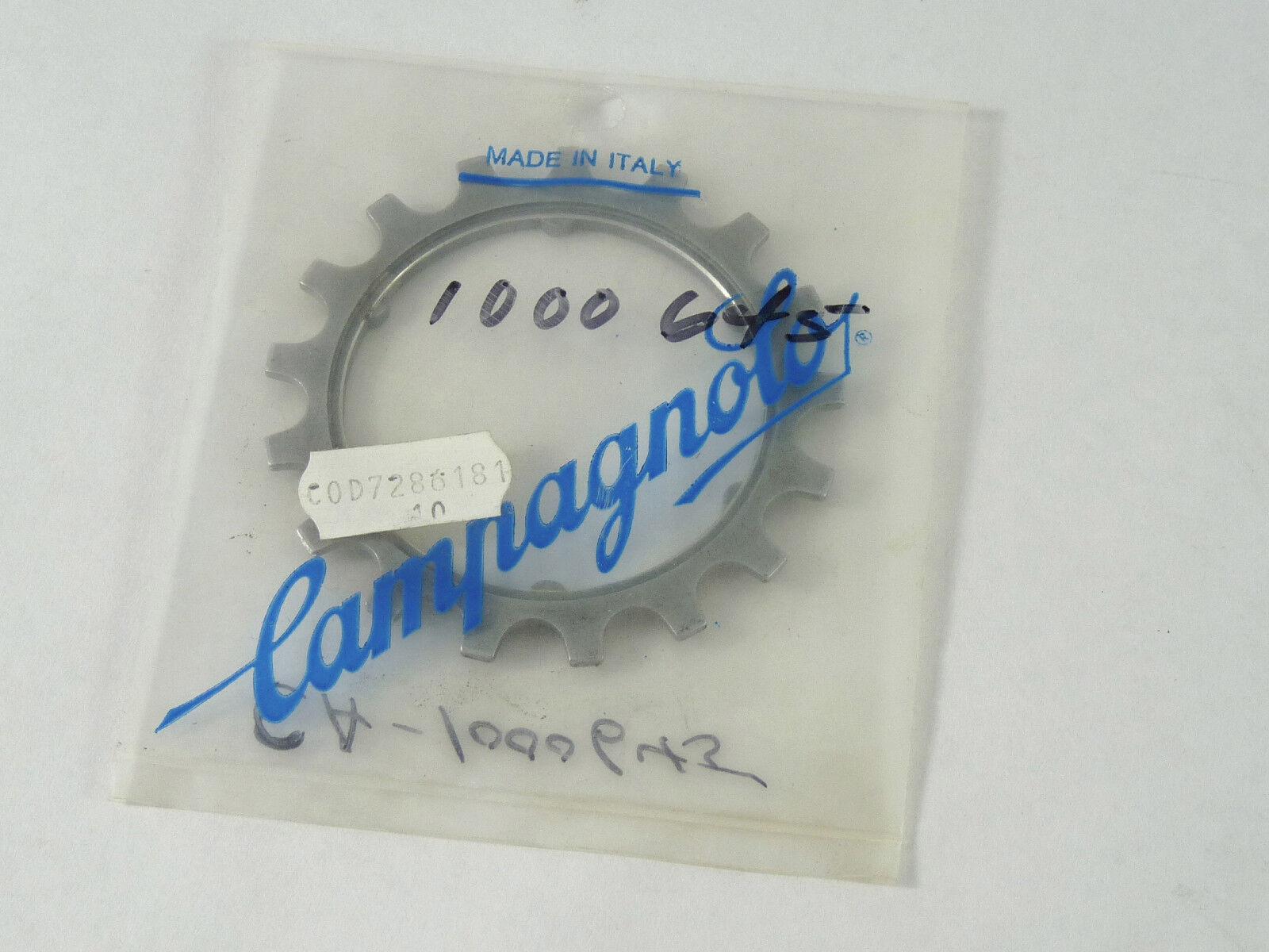 Campagnolo Freewheel Cog  SUPER RECORD 6 SPEED ALLOY A-18 A18 NOS