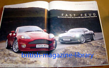 Evo Magazine Issue 82 - Aston Martin DB9 v Vanquish
