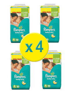 480-Couches-Pampers-Baby-Dry-Maxi-GIGA-Pack-Taille-4-7-18-Kg-Nouveau