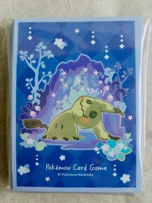 Pokemon Card Game Sleeve Mimikyu 64 sleeves Sun Moon Pokemon Center Japan