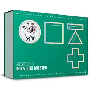 BTS-3RD-MUSTER-ARMY-ZIP-DVD-3-DISC-GIFT-Photobook-Story-Photo-Card-Tracking