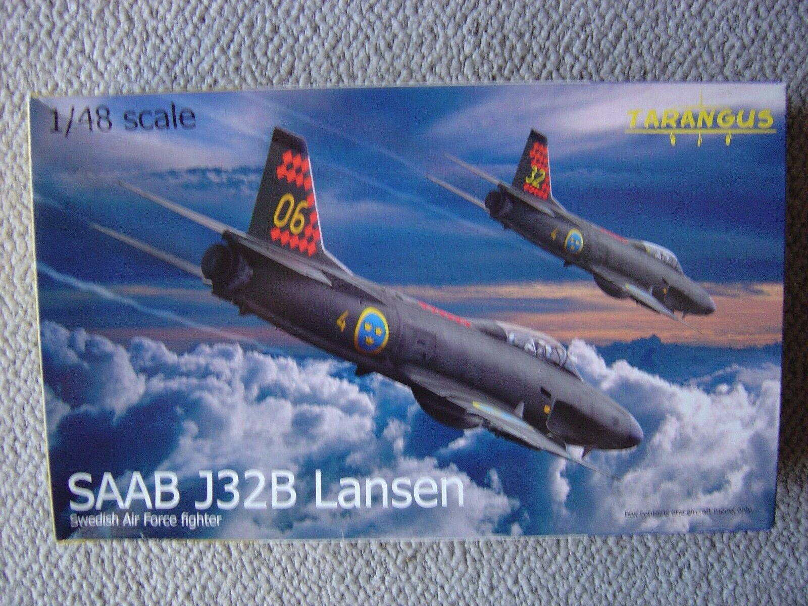 Tarangus 1 48 Saab J32B Lansen (Fighter Interceptor)