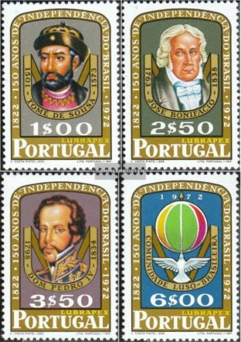 Portugal 11811184 complete.issue. unmounted mint never hinged 1972 LUBRAPEX