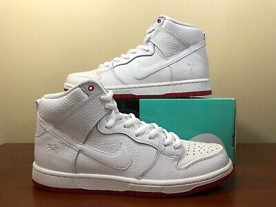Marcha atrás Glamour Acostumbrarse a  Nike SB Zoom Dunk High Pro QS Kevin Bradley White Red AH9613 116 Size 13 |  eBay