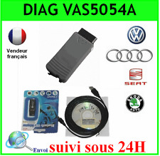VALISE INTERFACE VAS 5054A PUCE OKI - DIAGNOSTIQUE AUDI VW SEAT SKODA VAG COM
