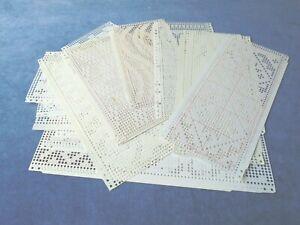 MACCHINA per maglieria - 20 utente schede perforate Fair Isle-Knitmaster/SILVER REED ecc.