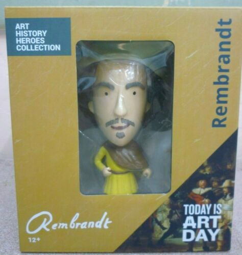 Rembrandt Dutch Golden Age History Artist Action Figure NEW Today Is Art Day