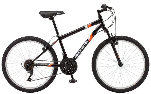 "24/"" Mountain Bike Roadmaster Granite Peak Boys Terrain Steel Frame Alloy Wheels"