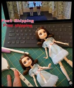 Mattel-The-Shining-Grady-Twins-Monster-High-Collector-Doll-Set-NEW-In-Hand