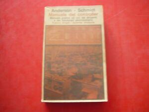 ANDERSON, SCHMIDT-MANUALE DEL CONTROLLER-FRANCO ANGELI-1978 - Italia - ANDERSON, SCHMIDT-MANUALE DEL CONTROLLER-FRANCO ANGELI-1978 - Italia