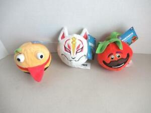 Lot-de-Fortnite-Mini-jouets-en-peluche-Tout-Neuf-Avec-Tag-tomatohead-durer-Burger-amp-Drift