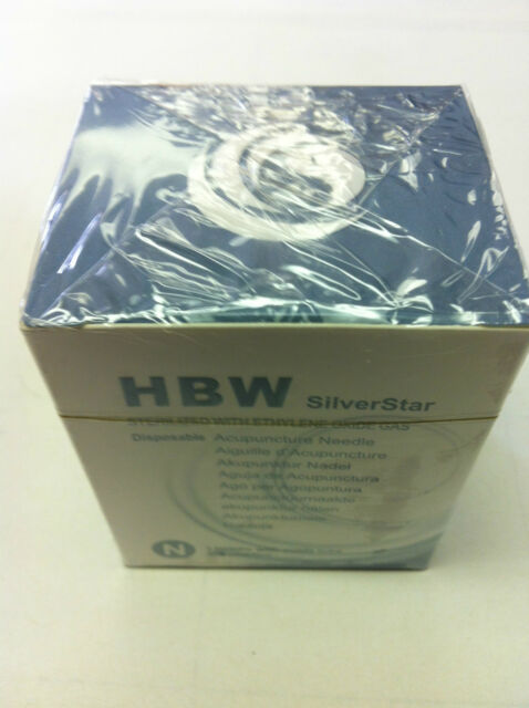 "SilverStar  #42x0.5""(0.14mmx13mm) acupuncture needle 100 pcs"