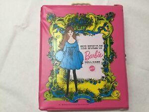 Étui de boîte à poupées Barbie Vintage de 1968