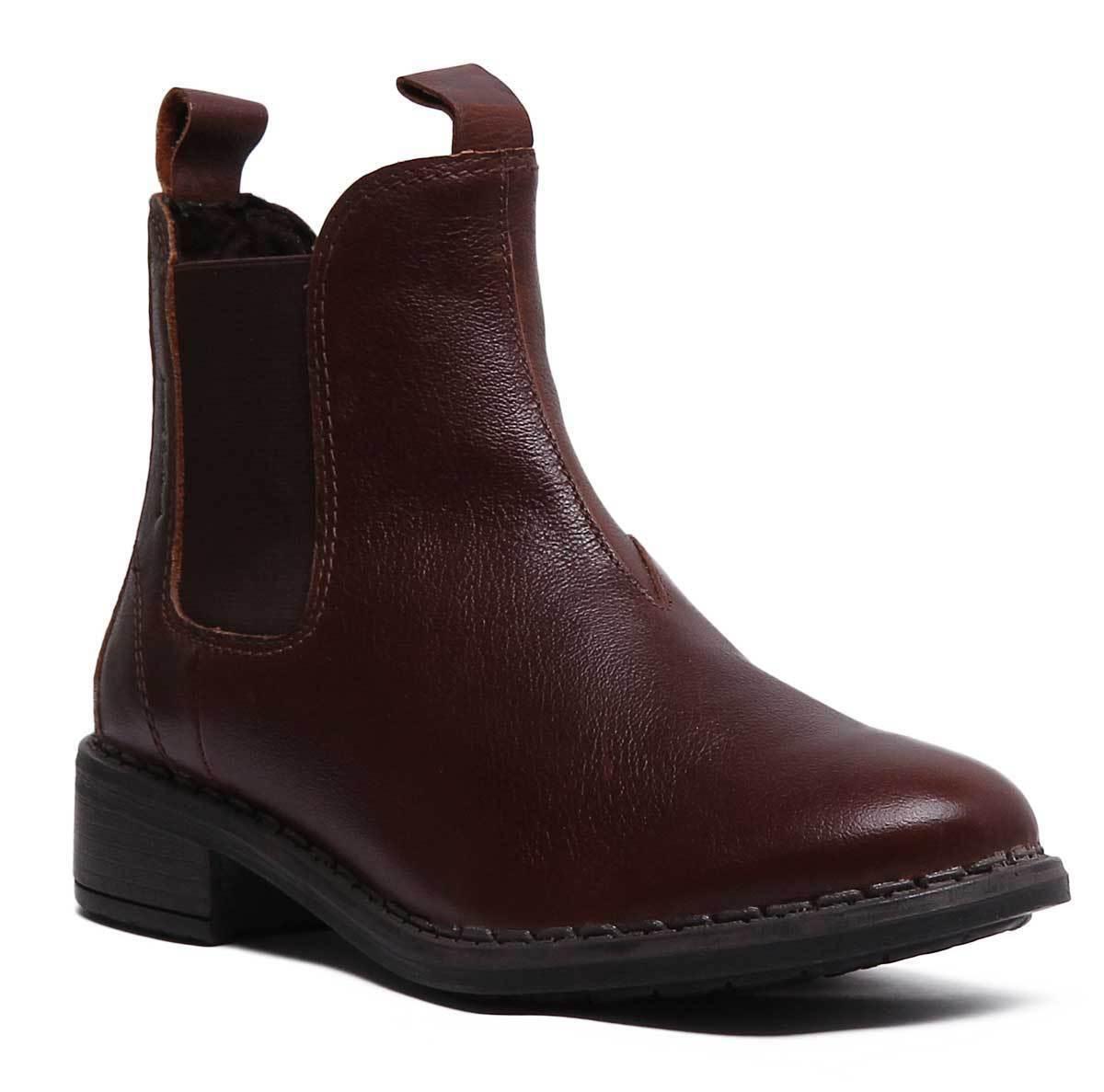 Josef Seibel Salena 11 Womens Leather Cognac Chelsea Ankle Boots Size UK 3 - 8