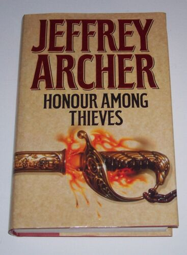 1 of 1 - Honour Among Thieves by Jeffrey Archer (Hardback, 1993)