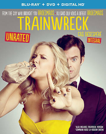 Trainwreck (Blu-ray/DVD, 2016, 2-Disc Set, Canadian)