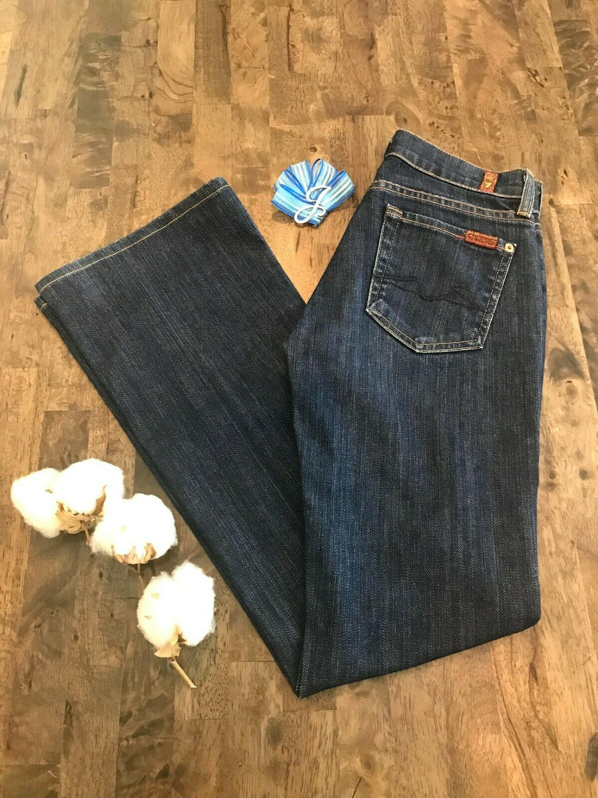 Women's 7 For All Mankind Jeans Jerome Dahan Boot Cut 25