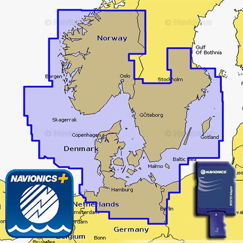 NAVIONICS+ 45XG marine-Karte SD/MSD Skagerrak and Kattegat