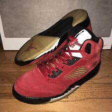buy popular 98976 bc7bd item 1 Nike Air Jordan 5 V Retro DMP Pack Mens 10.5 360968-991 Toro Bravo  Red Black 3M -Nike Air Jordan 5 V Retro DMP Pack Mens 10.5 360968-991 Toro  Bravo ...