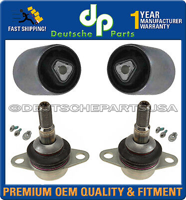 Front Tension Strut Control Arm Ball Joints 31126779840 L+R SET for BMW E60 X Xi