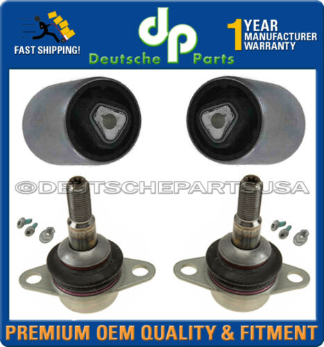 Front L+R Upper Thrust Control Arm Ball Joint Joints Bushing Kit BMW E60 X Xi 4p
