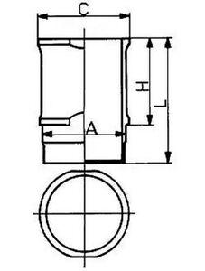 Cylindre-Manche-KOLBENSCHMIDT-89060110
