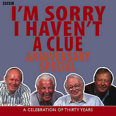1 of 1 - I,M SORRY I HAVEN,T A CLUE-ANNIVERSARY SPECIAL-2 CD AUDIO BOOK NEW SEALED
