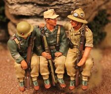 KING AND COUNTRY WW11 GEMANS AFRIKA KORPS AK44 TOY SOLDIERS BRITAINS