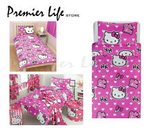 Hello Kitty Single  Bedding Set in Pink Duvet Cover and Pillow Case