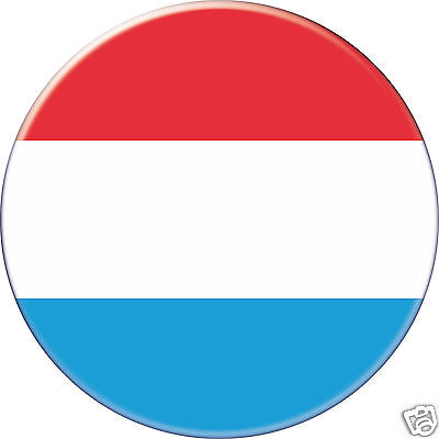 LUXEMBOURG DRAPEAU FLAG PAYS COUNTRY Ø25MM PIN BADGE BUTTON