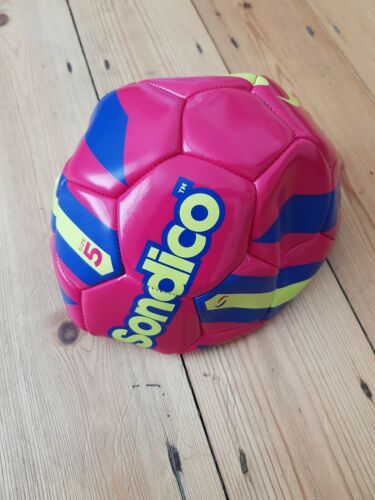 Brand New All Weather Sondico Size 5 Ball White Football Deflated