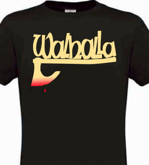 T shirt WALHALLA AXT Odin Wikinger Thor Hugin Wotan Sleipnir Munin Walhalla