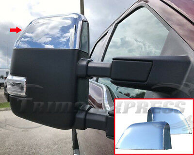 2018 Ford F350 >> 2017-2019 Ford F-250/F-350/Super Duty Chrome Door Mirror ...