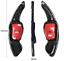 miniature 6 - Carbone Véritable DSG Boutons balancent Shift Pagaie pour VW Golf Golf 5 6 GTi R GTD EOS CC