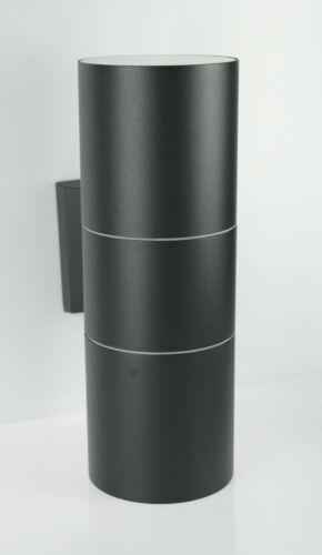 300//90 Up Down Lampada Muro INTERNO-ESTERNO LED in acciaio inox 1258c2 Marcadi Magnum-BLACK