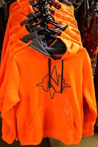 NEW-2018-NOMAD-Camo-Logo-Hoodie-Southbounder-Hoody-Hunting-BLAZE-Orange
