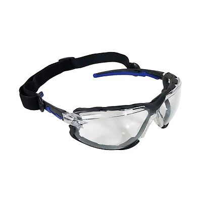 Falcon in//out Door Safety Glasses with Removable Foam Lined Gasket UV Protection