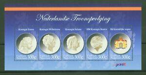 Magasiner Pour Pas Cher Caribisch Nederland Pays-bas 2012-reines Juliana Beatrix-bloc 3