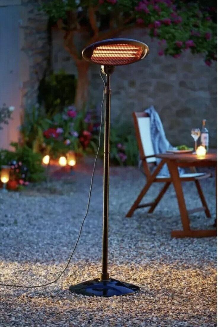 La Hacienda Outdoor Freestanding Quartz Patio HeaterFREE DELIVERY✅