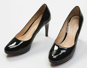 Damens's Cole Haan schwarz Patent Leder High Formal Sexy High Leder Heels Schuhes ... 39794c