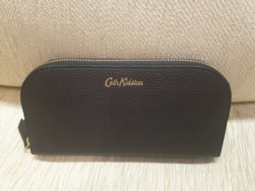 Cath Kidston curved continental wallet Black
