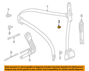 image is loading bmw-oem-01-05-325i-front-seat-belt-
