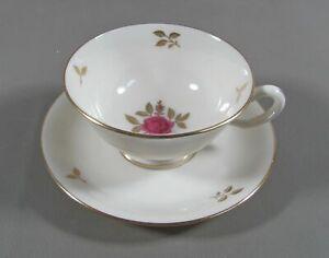 Lenox-China-RHODORA-Cup-amp-Saucer-Set-s-EXCELLENT