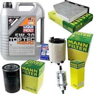 Inspection-Kit-Filter-LIQUI-MOLY-Oil-Oil-5L-5W-30-For-VW-Golf-VI-5K1-1-6-1K1