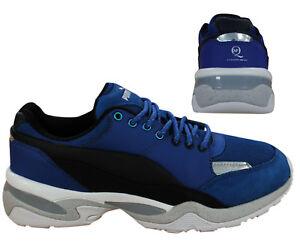 c2136cdf6c16 Puma AMQ MCQ Alexander McQueen Tech Runner Lo Mens Trainers Blue ...