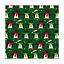 Navidad Invierno Festivo Tela Polycotton Pingüinos Navidad Copos De Nieve