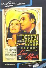 LOVE AFFAIR (1939 Charles Boyer, Irene Dunne)  - Region Free DVD - Sealed